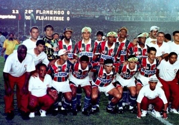 2º - Fluminense - 19 títulos - O Tricolor das Laranjeiras aparece na 2ª colocação. São 15 títulos estaduais, dois Rio-São Paulo (1957 e 1960) e dois Brasileiros (1970 e 1984), totalizando 19 conquistas.