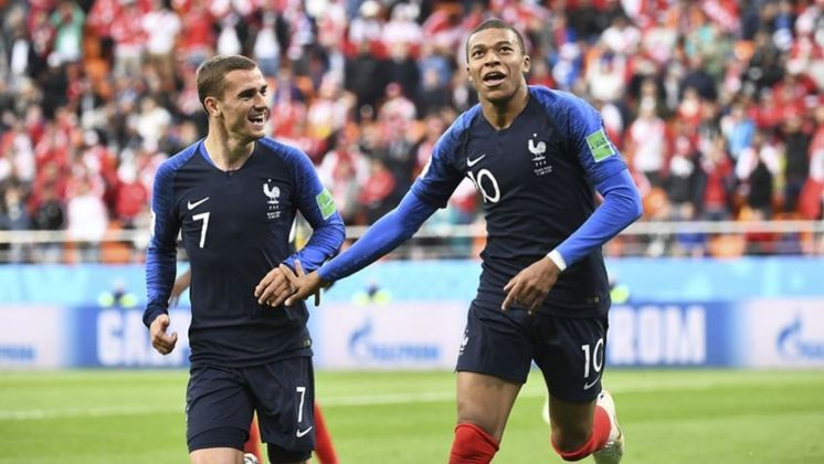 2º – FRANÇA: 1.755 pontos