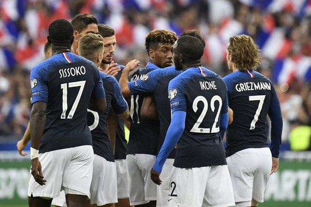 2º - FRANÇA: 1757.3 pontos