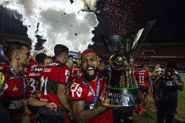 2. Gabigol até 2024 - Principal figura do Flamengo nos últimos anos, Gabriel Barbosa tem tudo para escrever o nome entre os maiores ídolos da história do Flamengo.