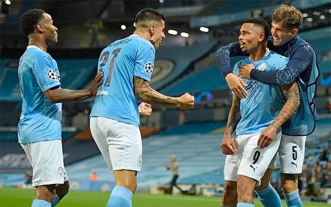 2º - Gabriel Jesus - 1 gol a cada 107 minutos - 14 gols em 1493 minutos - clubes: Manchester City
