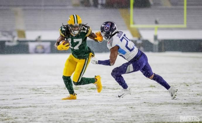 2º Green Bay Packers (12-3): A combinação Aaron Rodgers e Davante Adams está mais letal do que o normal em 2020.