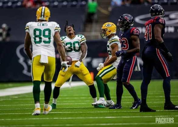 2 - Green Bay Packers: Nada como encarar o Houston Texans para se reabilitar na NFL.