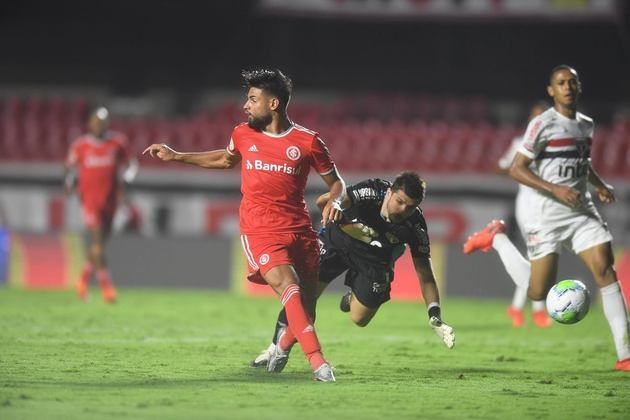 2º - Internacional: 26 pontos - sete vitórias - cinco empates - cinco derrotas - 24 gols feitos - 16 gols sofridos.