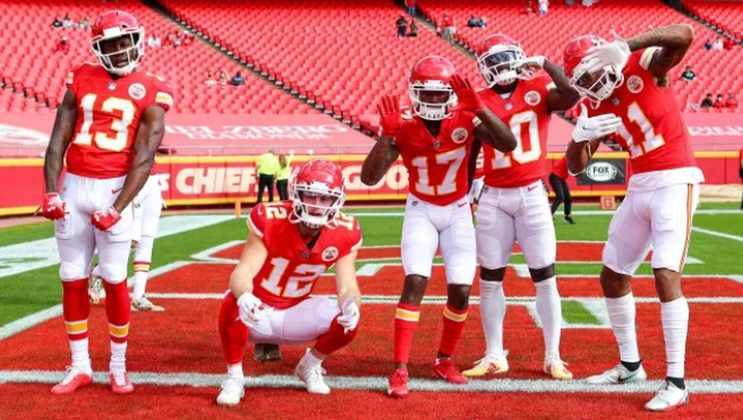 2° Kansas City Chiefs - De folga, mas permanece no mesmo lugar. Os Chiefs estão em seu melhor momento na temporada