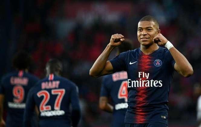 Kylian Mbappé- Mônaco para o PSG em 2017 - €180 milhões