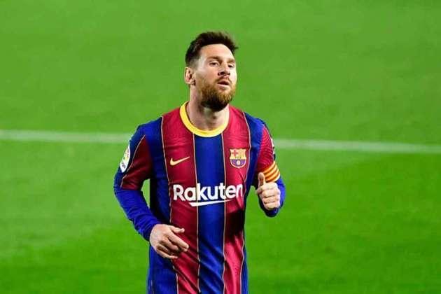 2º - Lionel Messi (Futebol): receita em 2020 - 120 milhões de dólares (aproximadamente R$ 665,97 milhões)