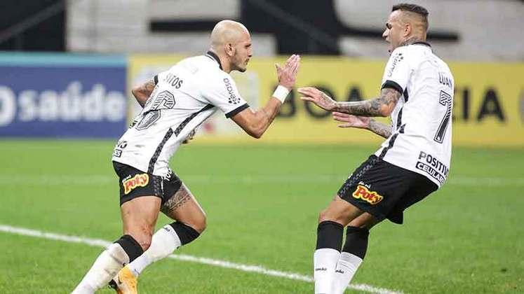 2º lugar - Corinthians: R$ 326,8 milhões de dívidas fiscais em 2020 (variação de 47% com relação a 2019, quando a dívida foi de R$ 222,9 milhões)