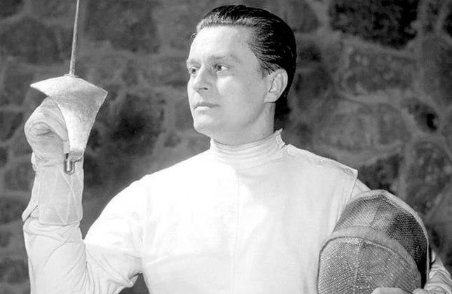 2º lugar: Família Gerevich (Hungria) - 14 medalhas, 7 de ouro - 1932 a 1980 – Esgrima / Foto: Aladár Gerevich