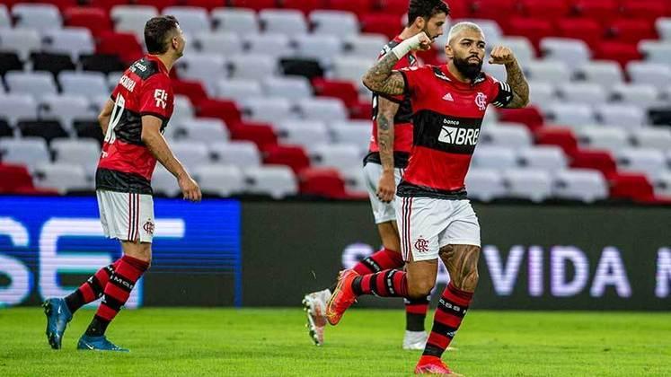 2º lugar - Flamengo: R$ 180 milhões de receitas com direitos de TV