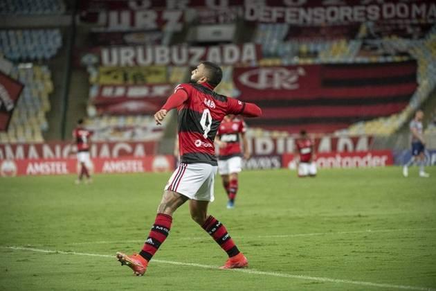 2º lugar: Gabigol - Atacante - Flamengo - 24 anos - Valor de mercado segundo o site Transfermarkt: 20 milhões de euros (aproximadamente R$ 128,72 milhões)