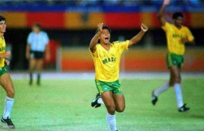 2° lugar – Romário – 7 gols em 6 jogos (Seul 1988)