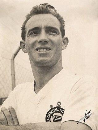 2º Luizinho - 606 jogos - O Pequeno Polegar atuou pelo Timão entre 1948 e 1962 e retornou em 1964, jogando até 1967.
