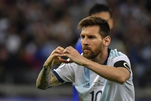 2º - Messi - Argentina - 22 gols