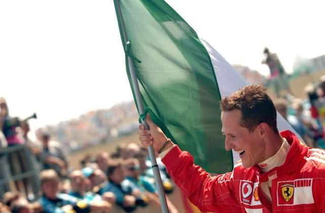 2 - Michael Schumacher, 68 poles, a última delas com a Ferrari 248F1 no GP da França de 2006
