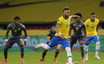2º - Neymar: 65 gols em 104 jogos pela Seleção
