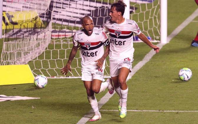 2 – O São Paulo, embalado pelos números de Daniel Alves, soma um montante de 39.115.400 seguidores, com uma participação de 22,3%.