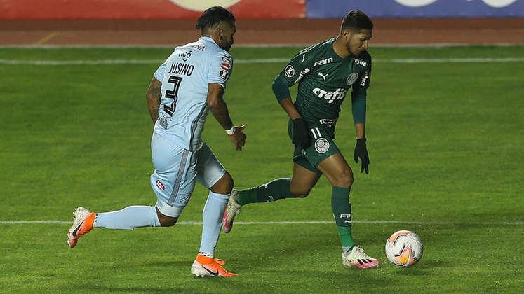 2º - Palmeiras - 66,6% de aproveitamento - 18 jogos - 8 vitórias - 9 empates - 1 derrota