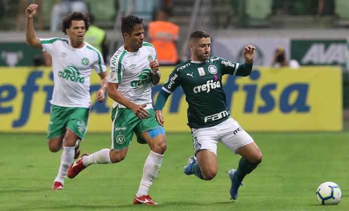 2ª rodada – Palmeiras x Chapecoense – 6/06 – 18h15 (de Brasília) – Allianz Parque
