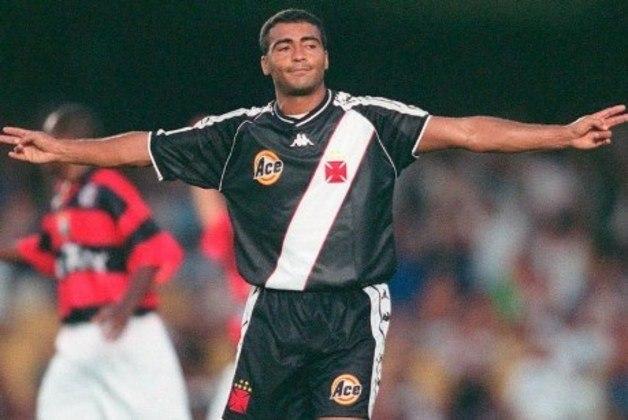2º - Romário - 70 gols - Segundo maior artilheiro da história do Vasco, Romário é também o segundo maior goleador do clube no Maracanã.