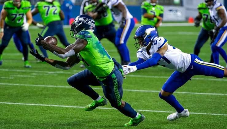 2° Seattle Seahawks: A equipe tem mostrado falhas defensivas, mas o ataque é de encher os olhos. Russell Wilson está iluminado...