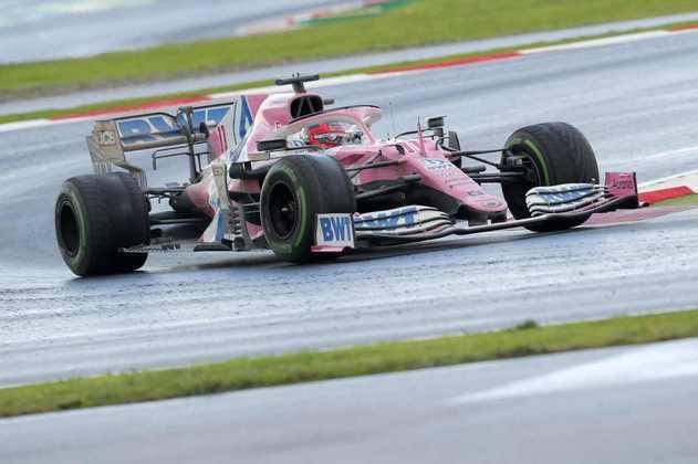 2 - Sergio Pérez (Racing Point) - 9.05 - Excelente performance para o primeiro pódio da temporada.