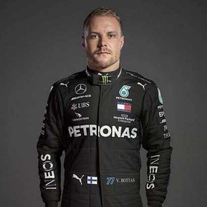 2º - Valtteri Bottas (Mercedes) - 179 pontos - Melhor resultado: 1º nos GPs da Áustria e Rússia