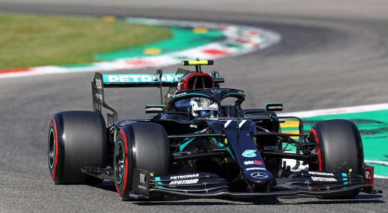 2) Valtteri Bottas (Mercedes), 1min18s956