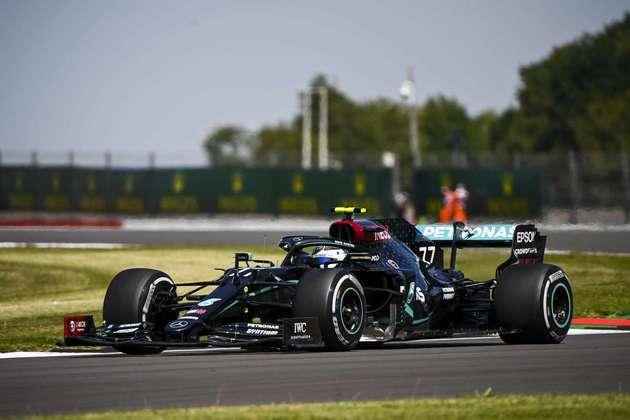 2) Valtteri Bottas (Mercedes), 1min24s616
