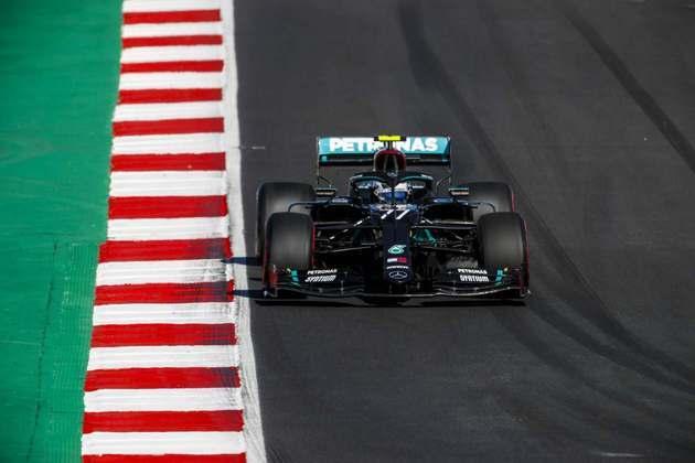 2º) Valtteri Bottas (Mercedes)  - 6.64 - Não conseguiu acompanhar o ritmo de Hamilton após ser ultrapassado