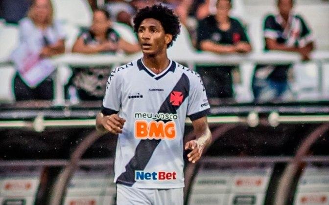 2º - Vasco 1x0  Oriente Petrolero-BOL - Copa Sul-Americana 2020. - O atacante Talles Magno deu a assistência diante da equipe boliviana.