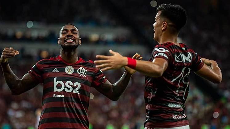 20º - 58.788 pagantes - Flamengo 3 x 1 Atlético-MG - Brasileiro de 2019 (Maracanã) - Renda: R$ 3.162.223.