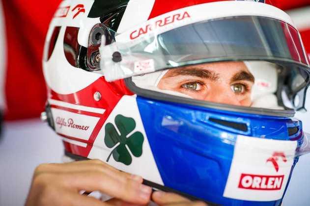 20) Antonio Giovinazzi (Alfa Romeo) - € 500 mil (R$ 3,2 milhões)