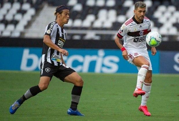 20 – BOTAFOGO: 0 pontos em 5 jogos. 0 vitórias, 0 empates e 5 derrotas. Três gols marcados e oito sofridos. 0.0% de aproveitamento.