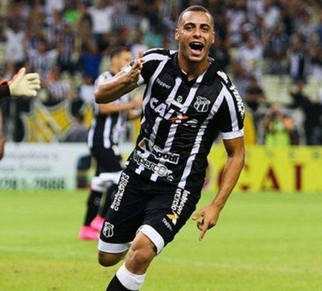 20º - CEARÁ - O Vozão teve 31,1 milhões de reais em receitas na venda de jogadores, como a do atacante Arthur Cabral (foto) ao Palmeiras