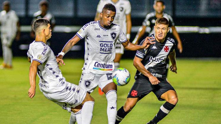 20º colocado – Botafogo (23 pontos/30 jogos): 0% de chances de ser campeão; 0% de chances de Libertadores (G6); 99.02% de chances de rebaixamento.