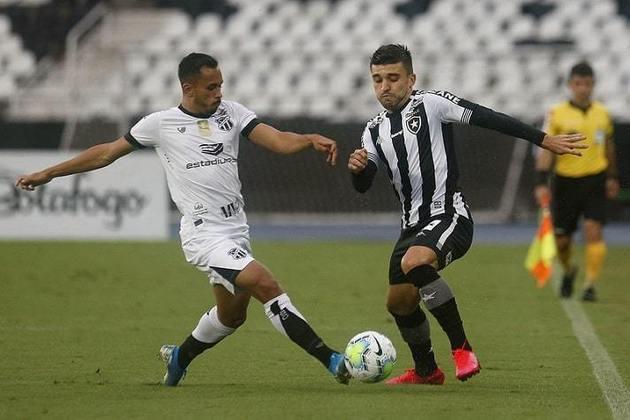 20º colocado – Botafogo (24 pontos/33 jogos): 0.0% de chances de ser campeão; 0.0% de chances de Libertadores (G6); 99.98% de chances de rebaixamento.
