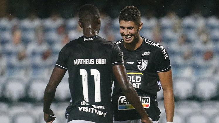 20º colocado – Botafogo (24 pontos/36 jogos): 0.0% de chances de ser campeão; 0.0% de chances de Libertadores (G6); 100% de chances de rebaixamento.