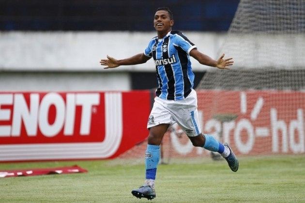 20- Em 2017, o Grêmio vendeu Pedro Rocha para o Spartak por 12 milhões de euros.