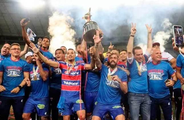 20° - Fortaleza (1 milhão de torcedores) - Nove títulos: Uma Copa do Nordeste (2019), um Campeonato Brasileiro Série B (2018), cinco estaduais (2015, 2016, 2019, 2020 e 2021) e duas Taças dos Campeões Cearenses (2016 e 2017).
