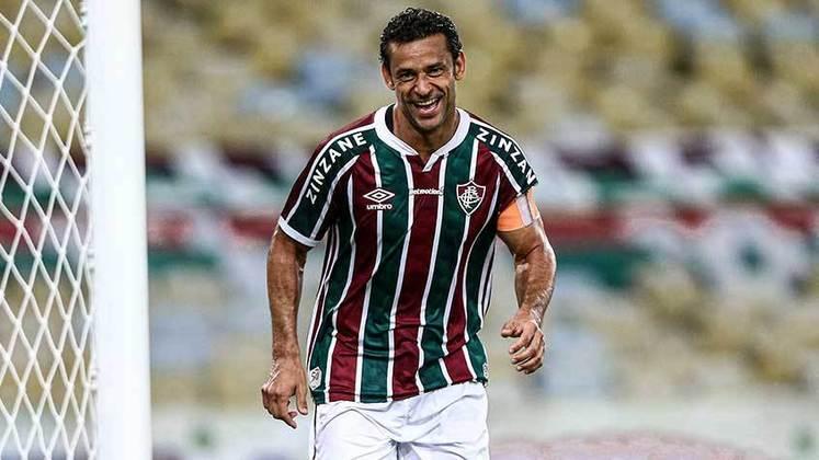 20 - Fred (2009 - 2021) - 337 jogos com a camisa do Fluminense.