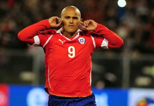 20º - Humberto Suazo - 39 anos - chileno - 334 gols em 591 jogos - Clube atual: Deportes Santa Cruz-CHI