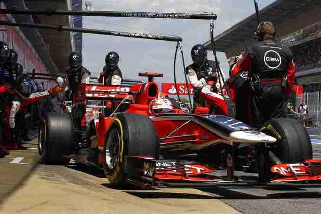 20º) Jérôme d'Ambrosio fez seu ano de estreia, mas pouco durou na F1, uma passagem pouco lembrada pelos fãs da categoria
