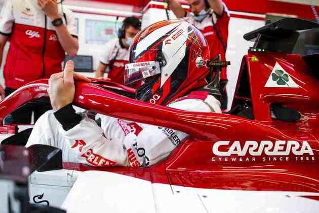 20) Kimi Räikkönen (Alfa Romeo), 1min16s614