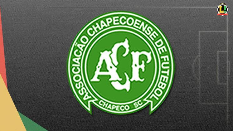20º lugar: Chapecoense - Faturamento de R$ 41.125.000,00 (TV aberta + paga rendeu R$ 35.125.000,00 e PPV rendeu R$ 6.000.000,00) - Com contrato com a Globo para TV paga