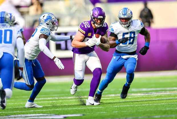 20º Minnesota Vikings - Dê a bola nas mãos de Dalvin Cook que boas coisas acontecem. Quando o RB produz, o time tem chance de vitória.