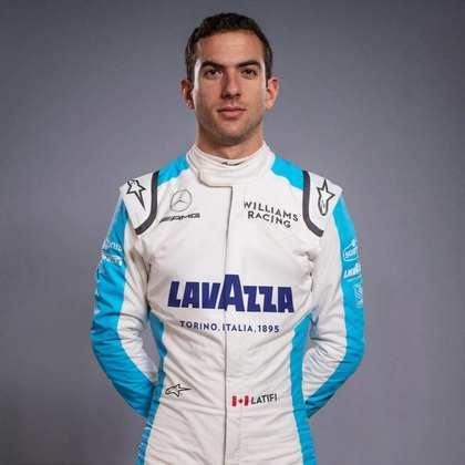 20º - Nicholas Latifi (Williams) - 0 pontos - Melhor resultado: 11º nos GPs da Áustria e Itália