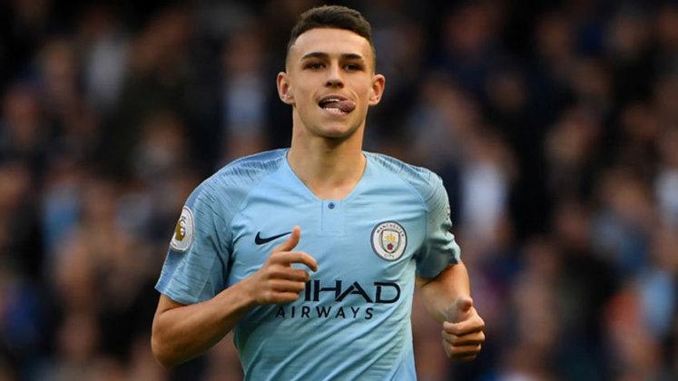 20ºPHIL PHODEN - joga pelo Manchester City. Valor de mercado € 60 milhões (R$ 383 milhões)