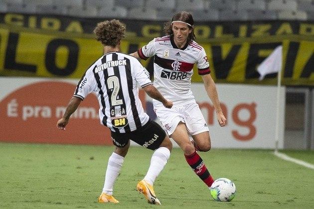 20ª rodada) Atlético-MG 4x0 Flamengo, no Mineirão, em 8 de novembro de 2020