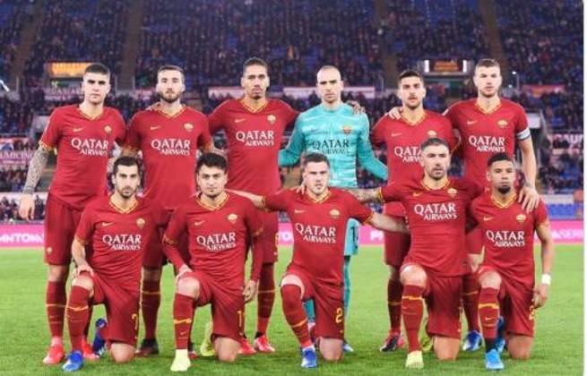 20º: Roma - 133 pontos - 100 jogos